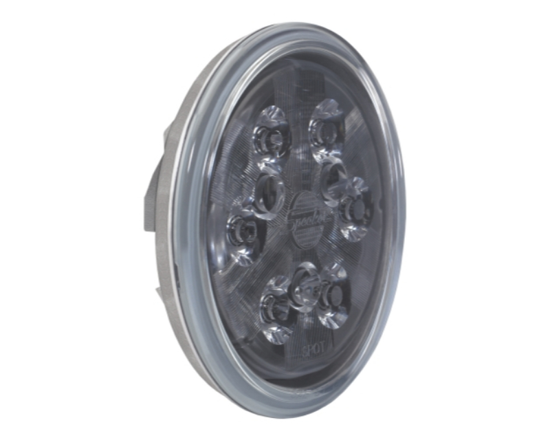 J.W. Speaker 8000281 6040S - 12V LED Work Light with Polycarbonate Lens & Spot Beam Pattern