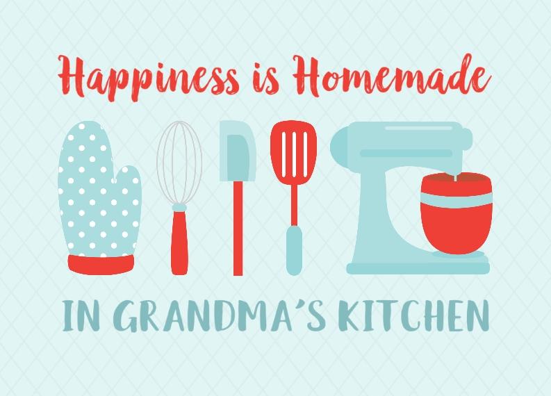 Floor Mat Personalized Floor Mat, Gift -Grandmas Kitchen