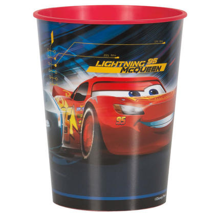 Cars 1 16 oz. Plastic Cup For Birthday Party