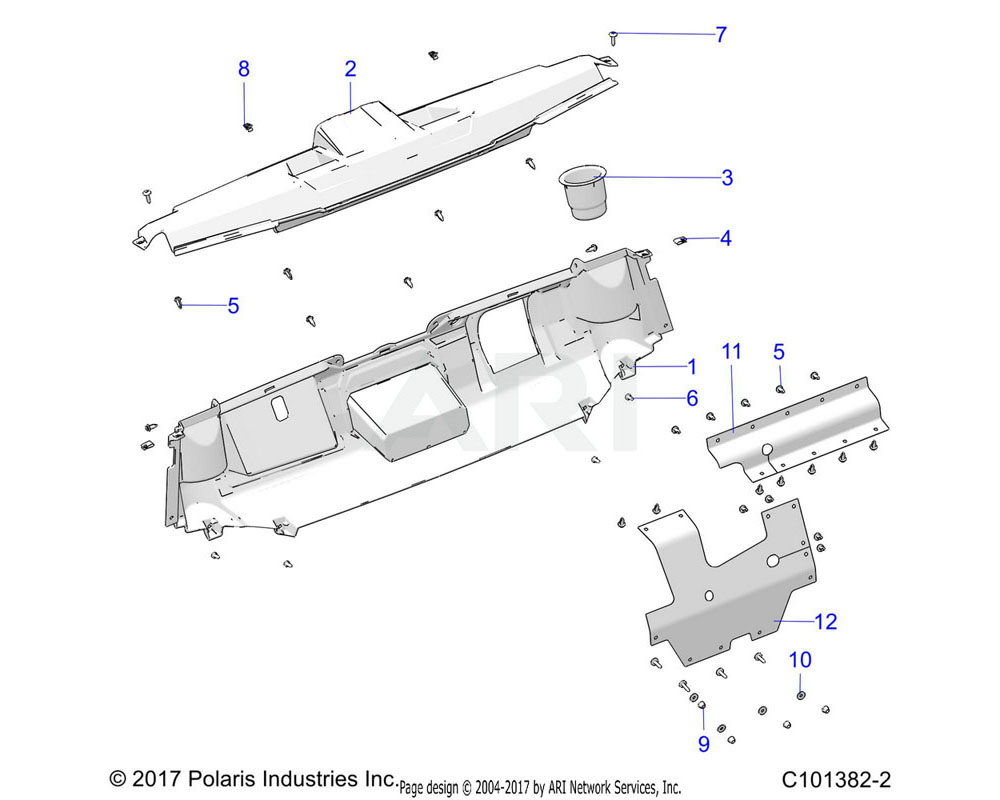 Polaris OEM 5436836 HOLDER-CUP
