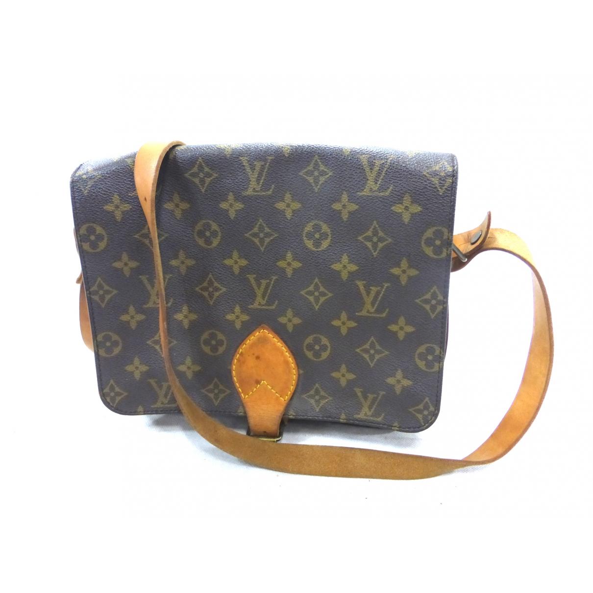 Louis Vuitton Cartouchière Brown Cloth handbag for Women \N