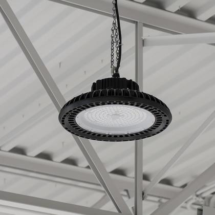 Luminaire UFO Monopoint HB Pour Plafonds Élevés DEL 200W Ultra efficace 135 lumens à watts - 4000K, 120V-277V