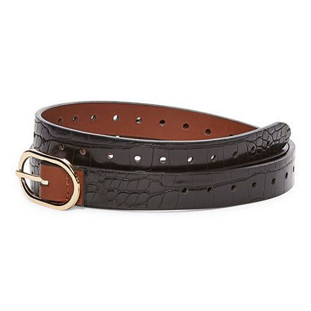 Mixit Womens Belt, Medium , Brown