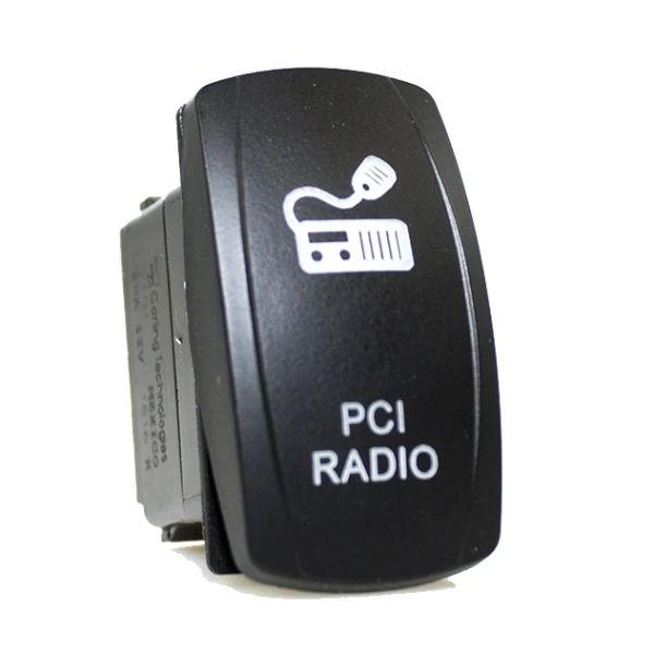 PCI Race Radios PRR3267 PCI Race Radios PRR3267 Rocker Switch for PCI devices