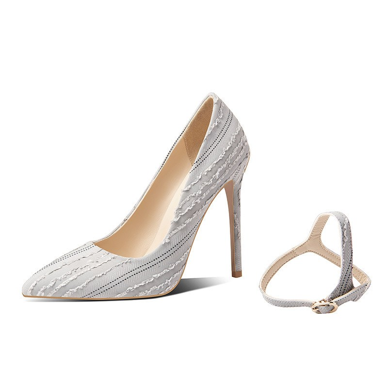Ericdress Pointed Toe Stiletto Slip-On Women's Pumps