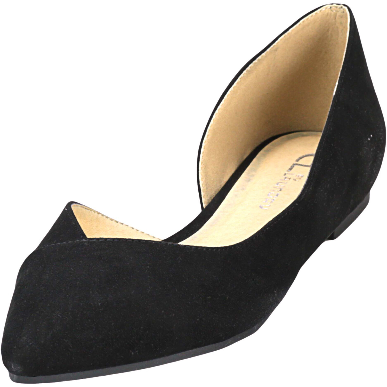 Chinese Laundry Women's Hiromi Suede Black Ankle-High Fabric Flat Shoe - 7M