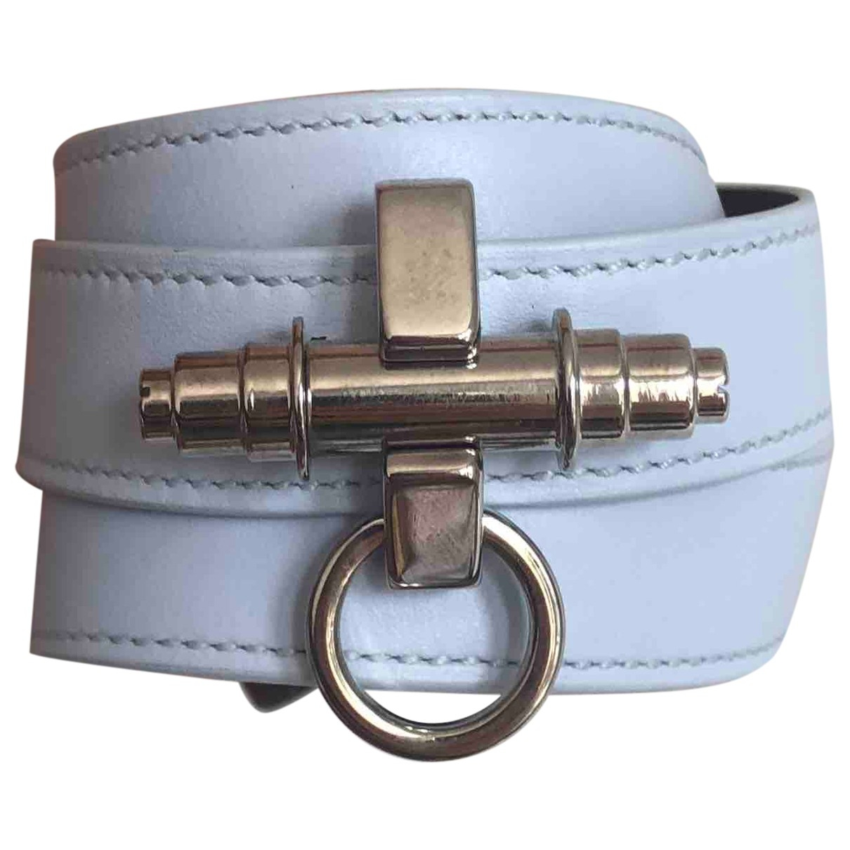 Givenchy Obsedia Blue Leather bracelet for Women \N