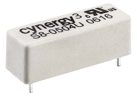 Cynergy3 SPST N/O Reed Relay, 24V Coil UL