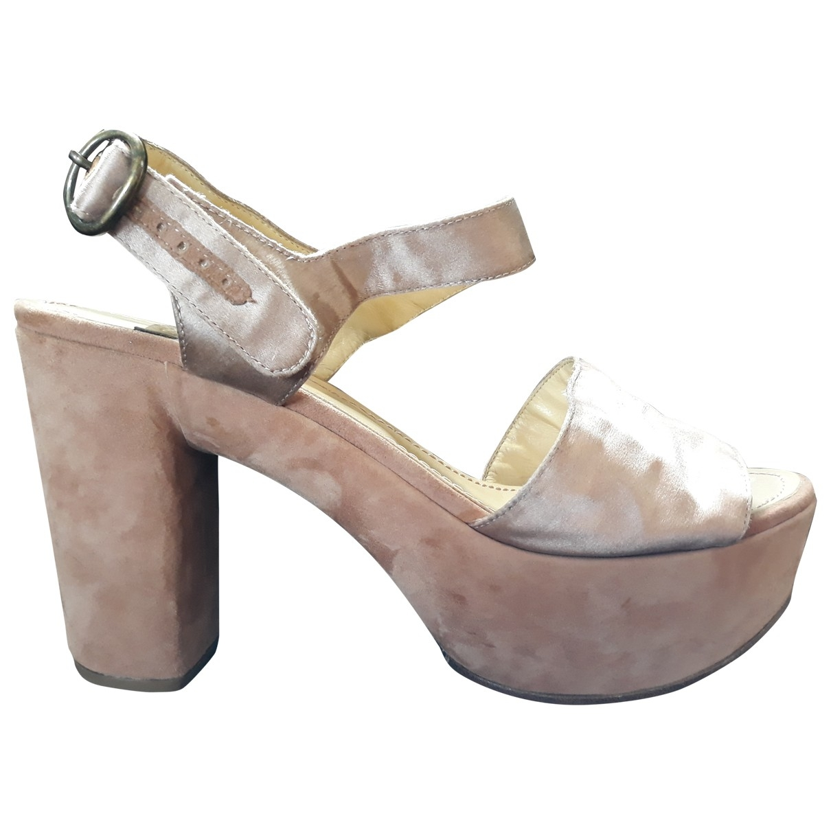See By Chloé \N Pink Suede Sandals for Women 41 EU