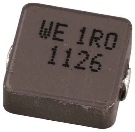 Wurth Elektronik Wurth WE-LHMI Series 1 μH ±20% Composite Iron Powder Multilayer SMD Inductor, 7050 Case, SRF: 51MHz 10A dc 6.5mΩ Rdc