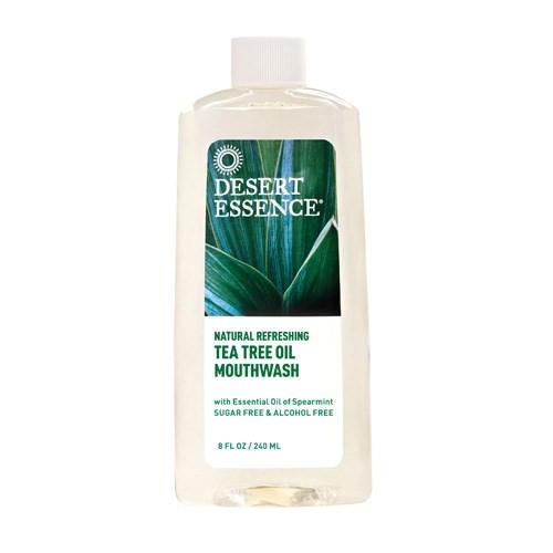 Tea Tree Oil Mouthwash Spearmint 8 FL Oz by Desert Essence