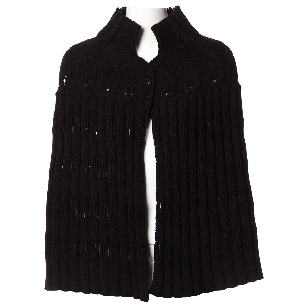 Saint Laurent \N Black Wool Knitwear for Women One Size International