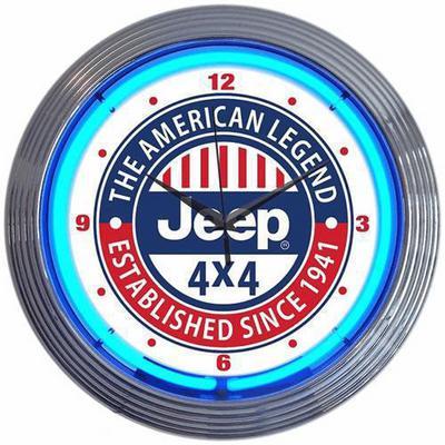 Jeep Neon Clock - 11H9H