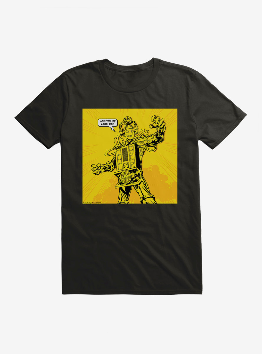 Doctor Who Cybermen You Will Be Like Us T-Shirt