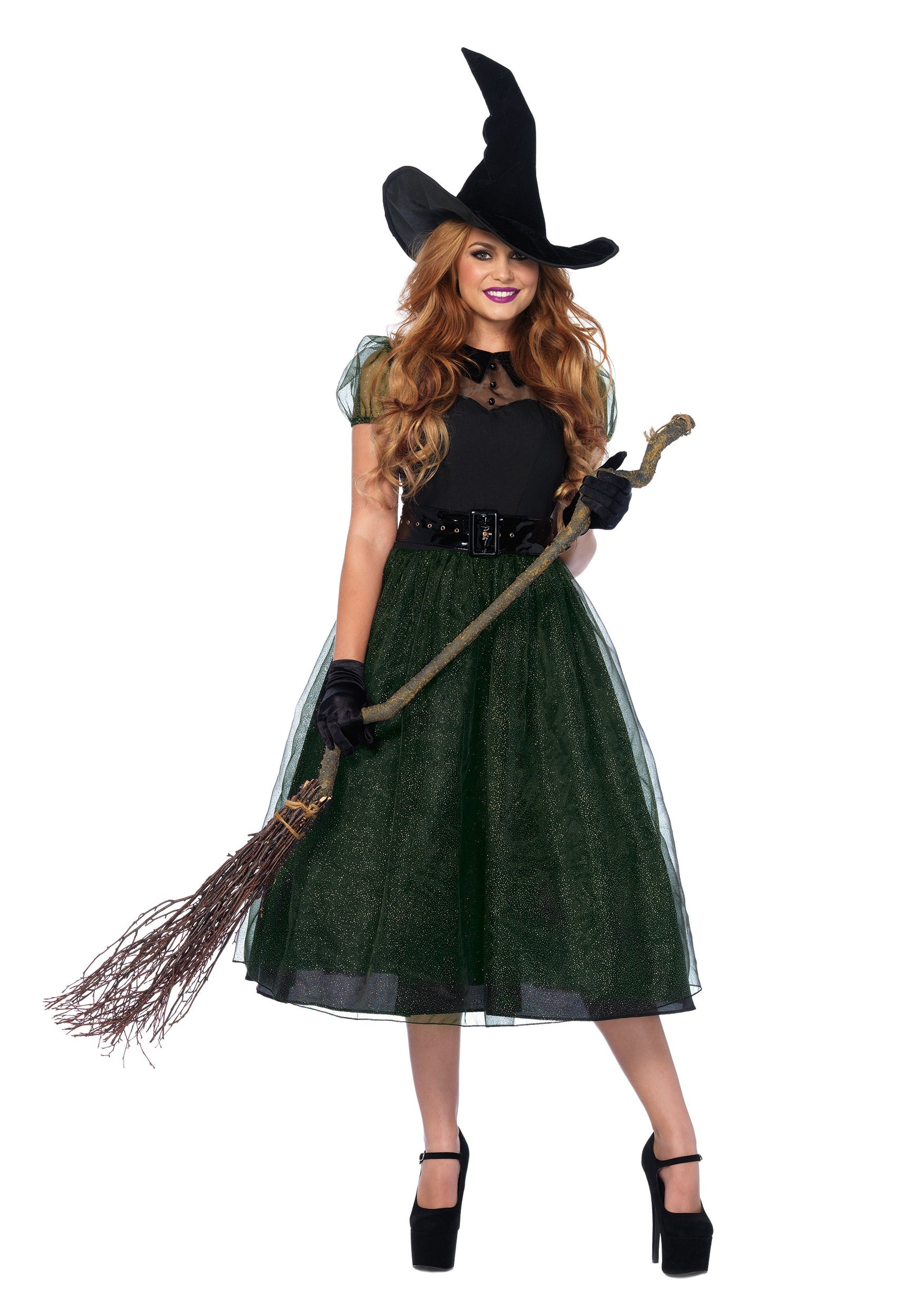 Darling Spellcaster Witch Costume For Grown ups