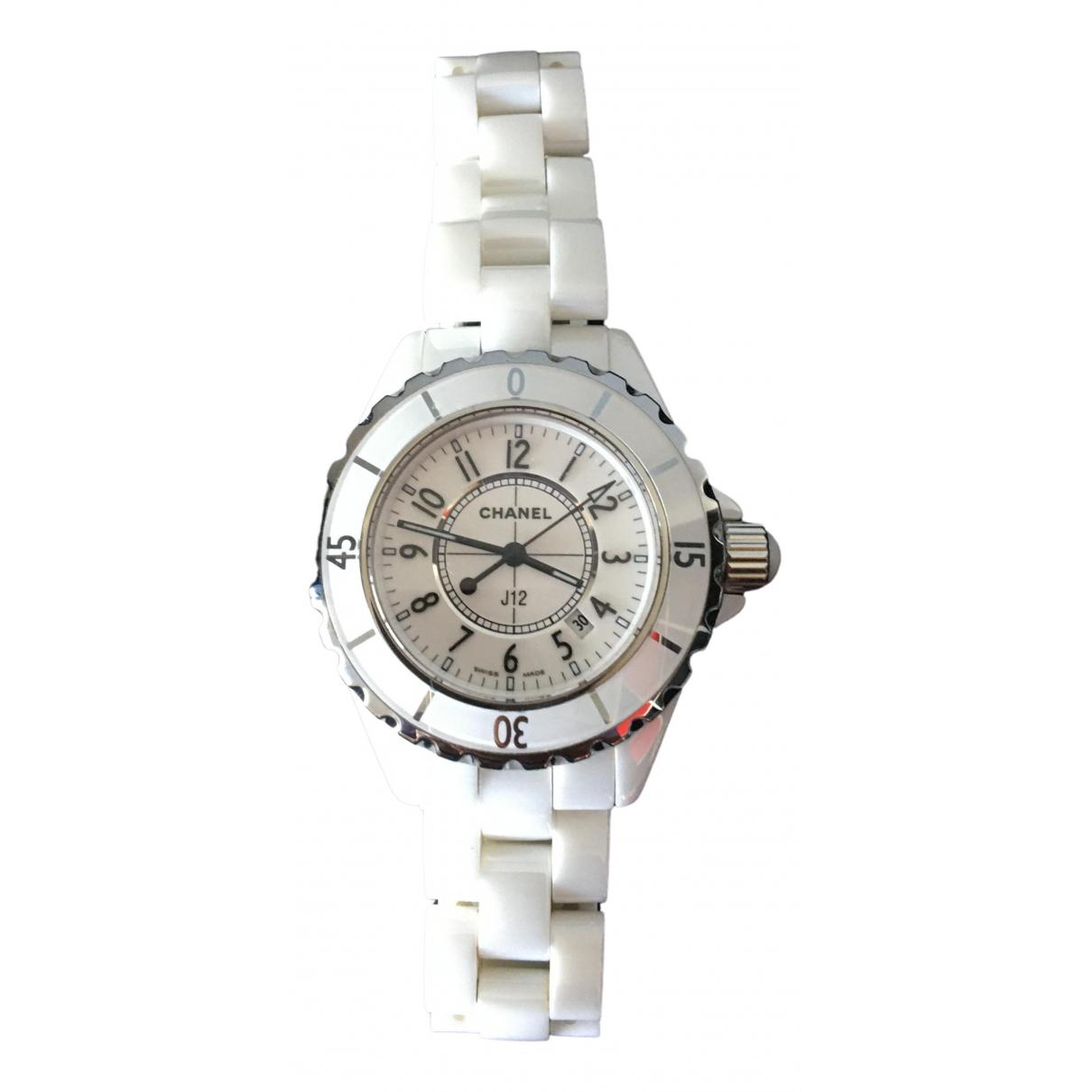 Chanel J12 Quartz White Ceramic watch for Women \N