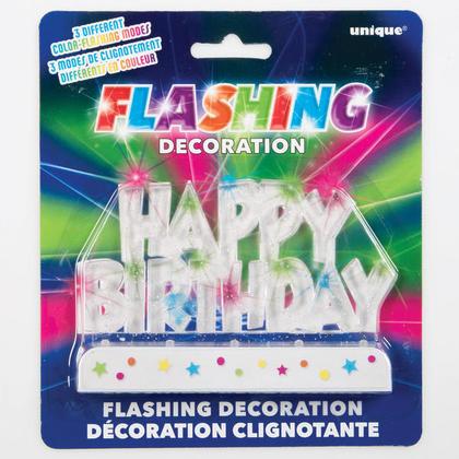 Flashing Cake Decoration