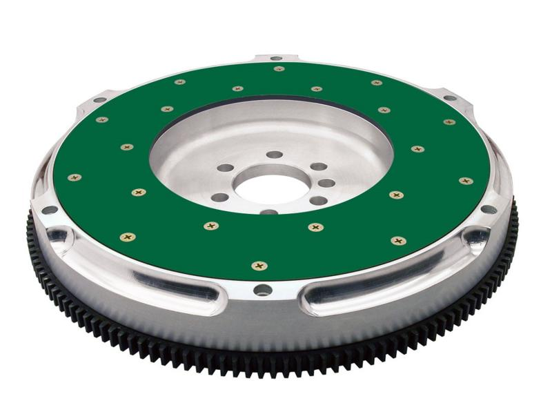 Fidanza 198581 Performance Flywheel-Aluminum PC C4; High Performance; Lightweight with Replaceable Friction