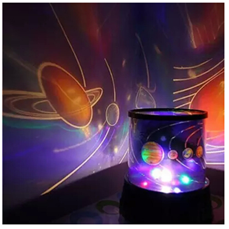 Fancy Creative Universe Pattern Home Decorative Battery Projection LED Lights