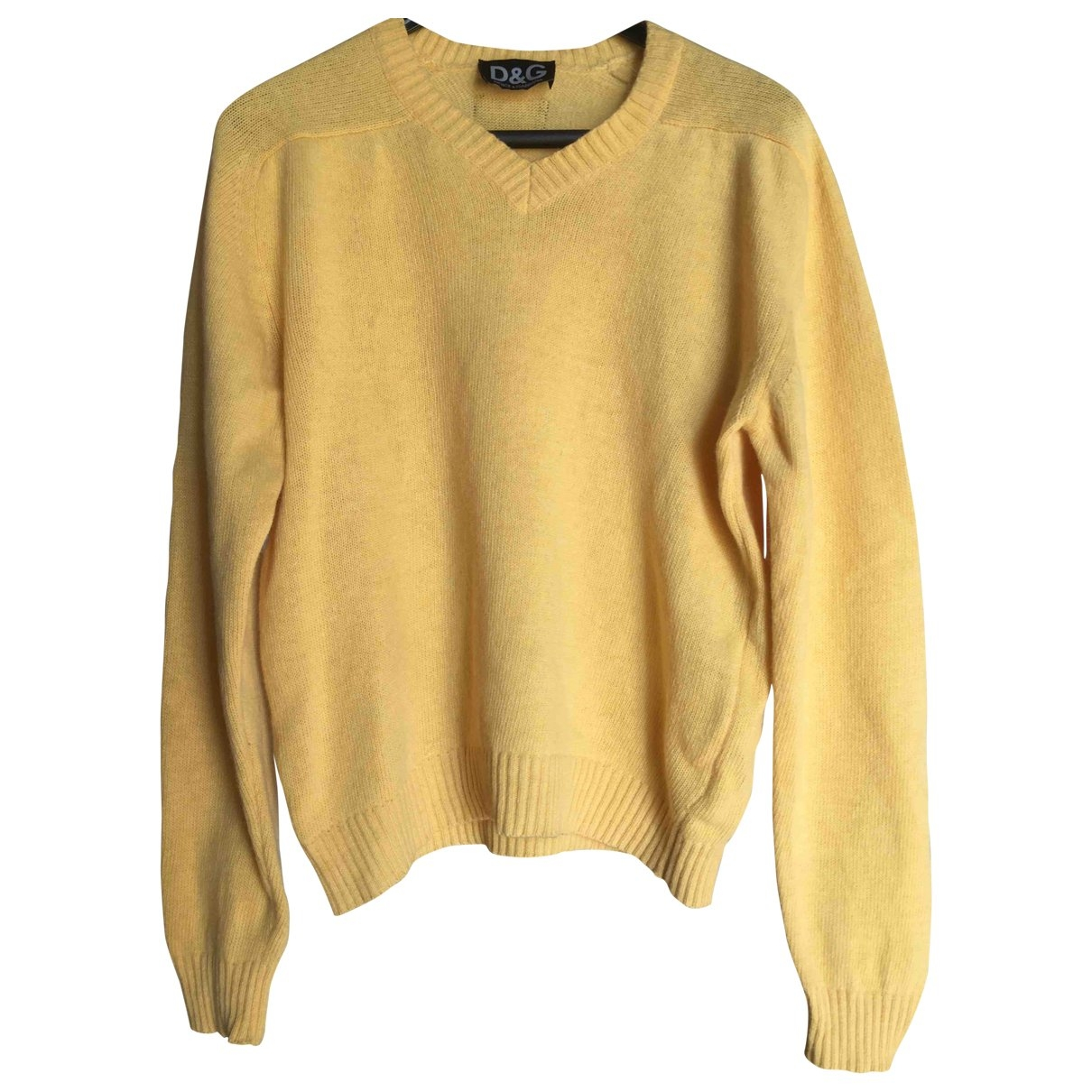 D&g \N Yellow Wool Knitwear & Sweatshirts for Men 50 IT