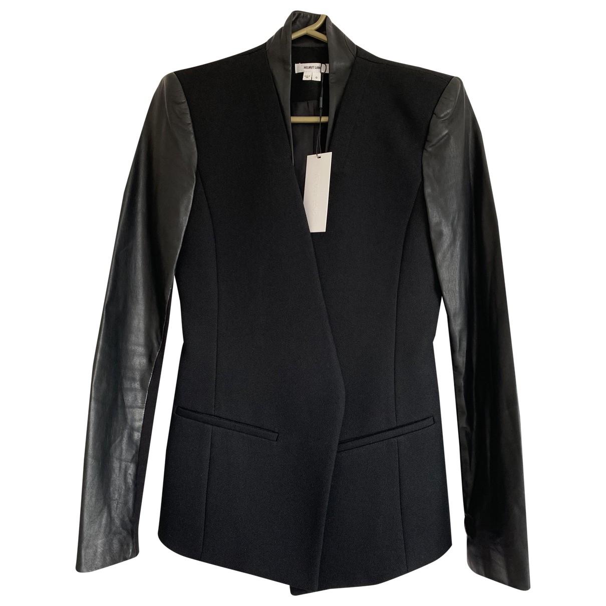 Helmut Lang \N Black Wool jacket for Women 0 0-5