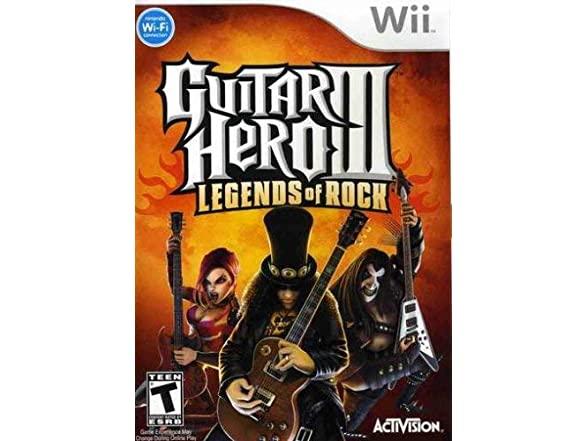 Guitar Hero Iii: Legends Of Rock - Nintendo Wii