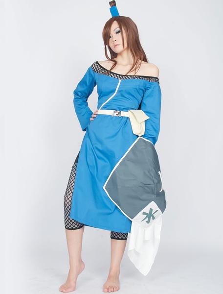 Milanoo Naruto Terumi Mei Fifth Mizukage Halloween Cosplay Costume Halloween
