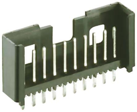 Lumberg , Minimodul, 13 Way, 1 Row, Straight PCB Header (10)