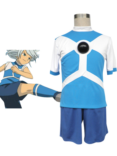 Milanoo Inazuma Eleven Diamond Dust Soccer Uniform Cosplay Costume Halloween