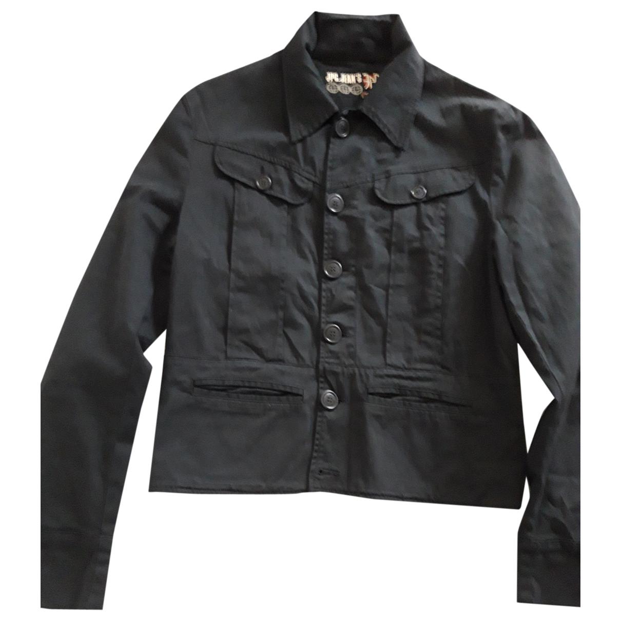 Jean Paul Gaultier \N Black Cotton jacket for Women 44 FR