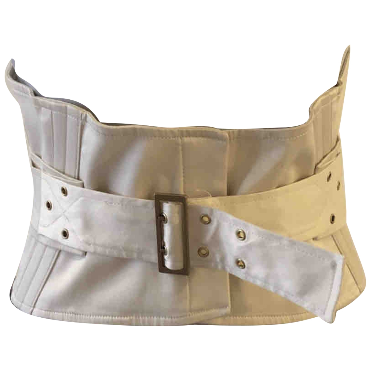 Gucci \N Beige Cotton belt for Women M International