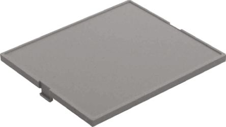 CAMDENBOSS 32 x 42 x 5mm Cover for use with CNMB DIN Rail Enclosure, Grey