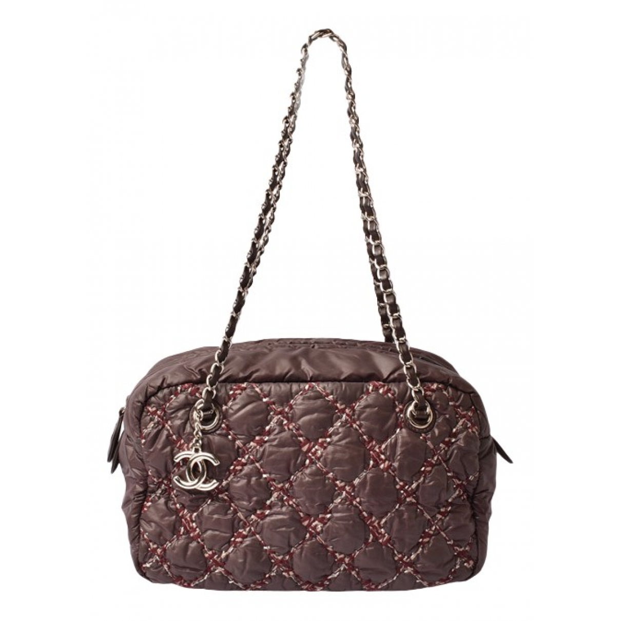 Chanel \N Brown Cloth handbag for Women \N