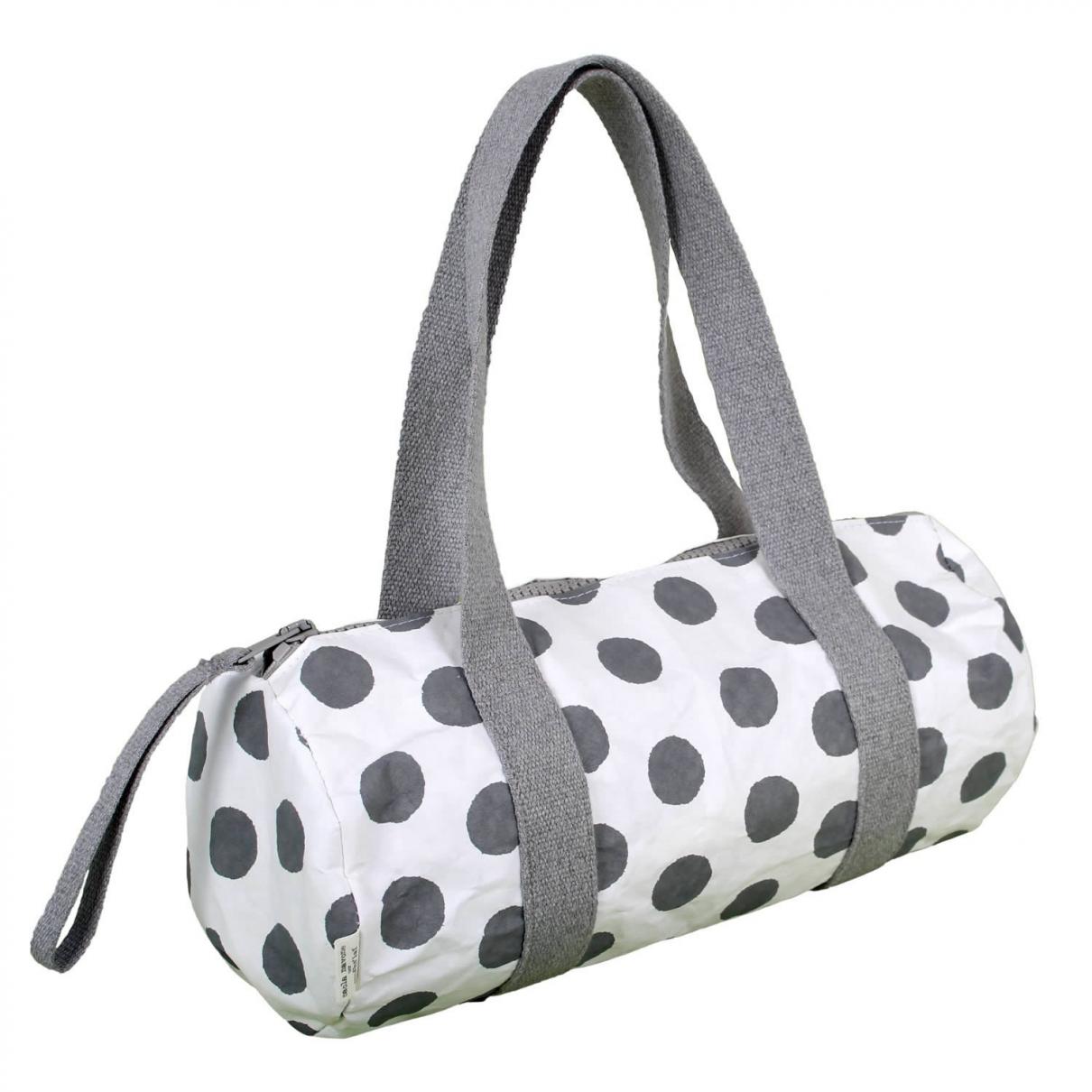 Non Signé / Unsigned \N Grey Cotton handbag for Women \N