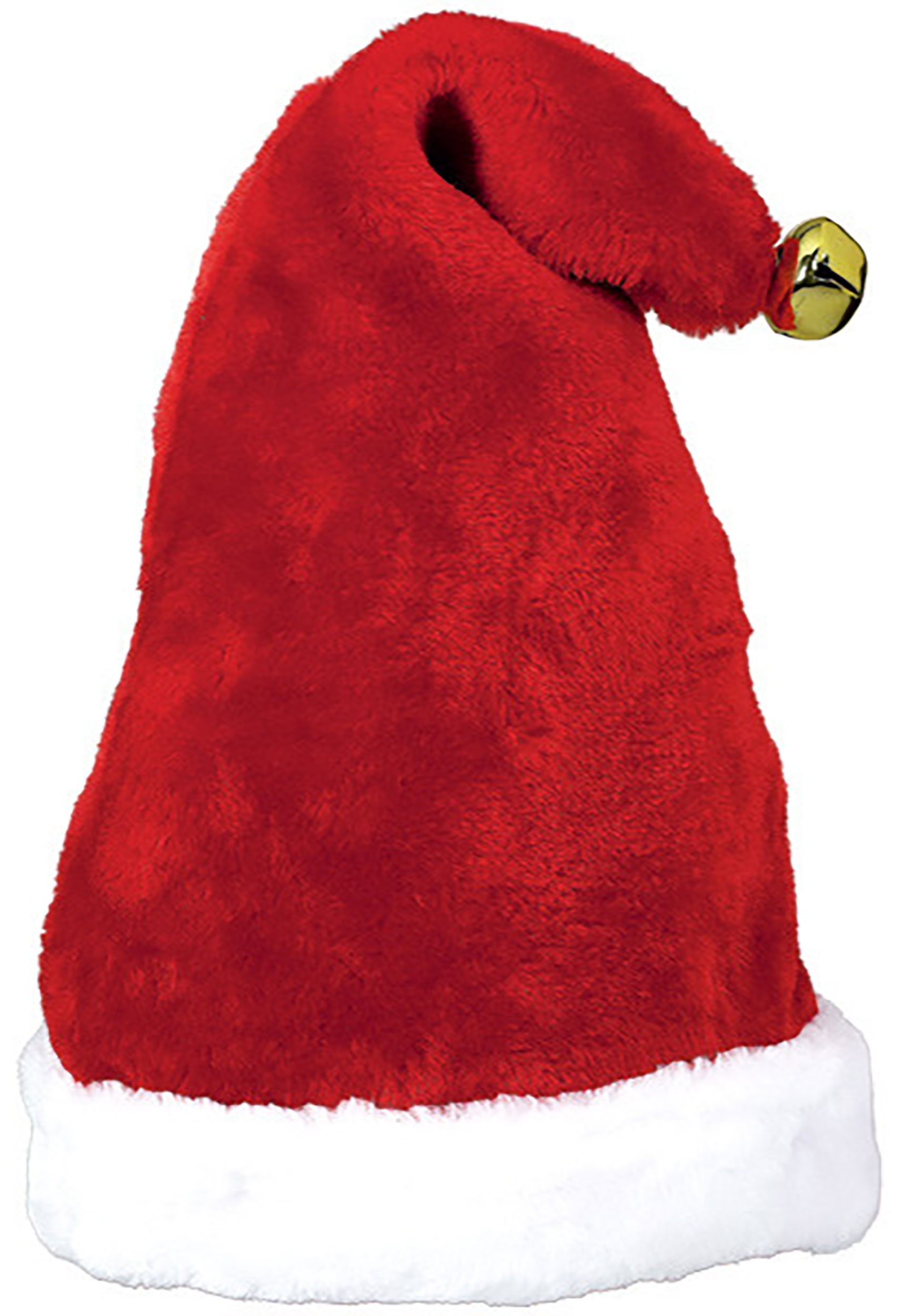 Santa Hat with Bell Christmas Accessory