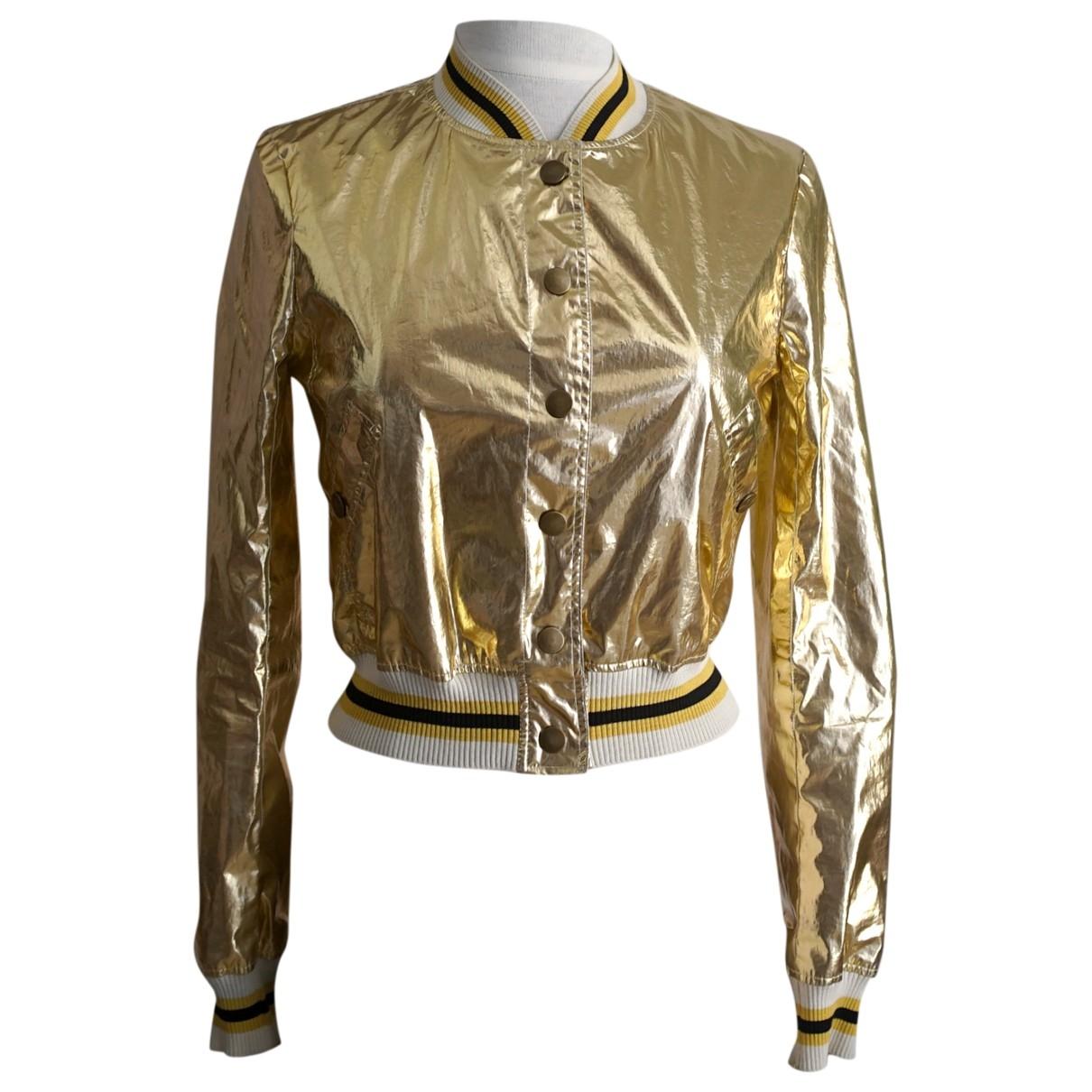 Isabel Marant Etoile \N Gold jacket for Women 36 FR
