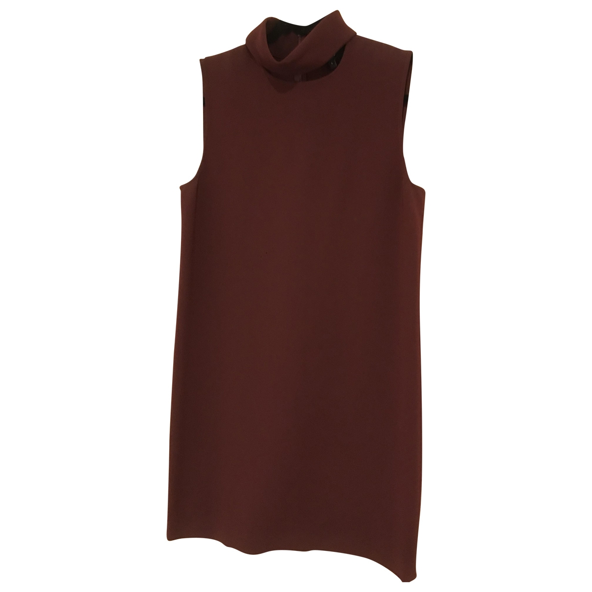 Theory \N Burgundy Linen dress for Women 6 US