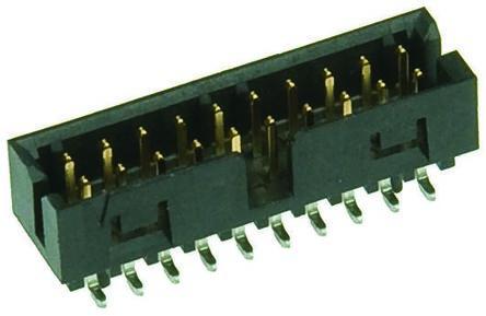 Molex , Milli-Grid, 87832, 50 Way, 2 Row, Straight PCB Header (5)