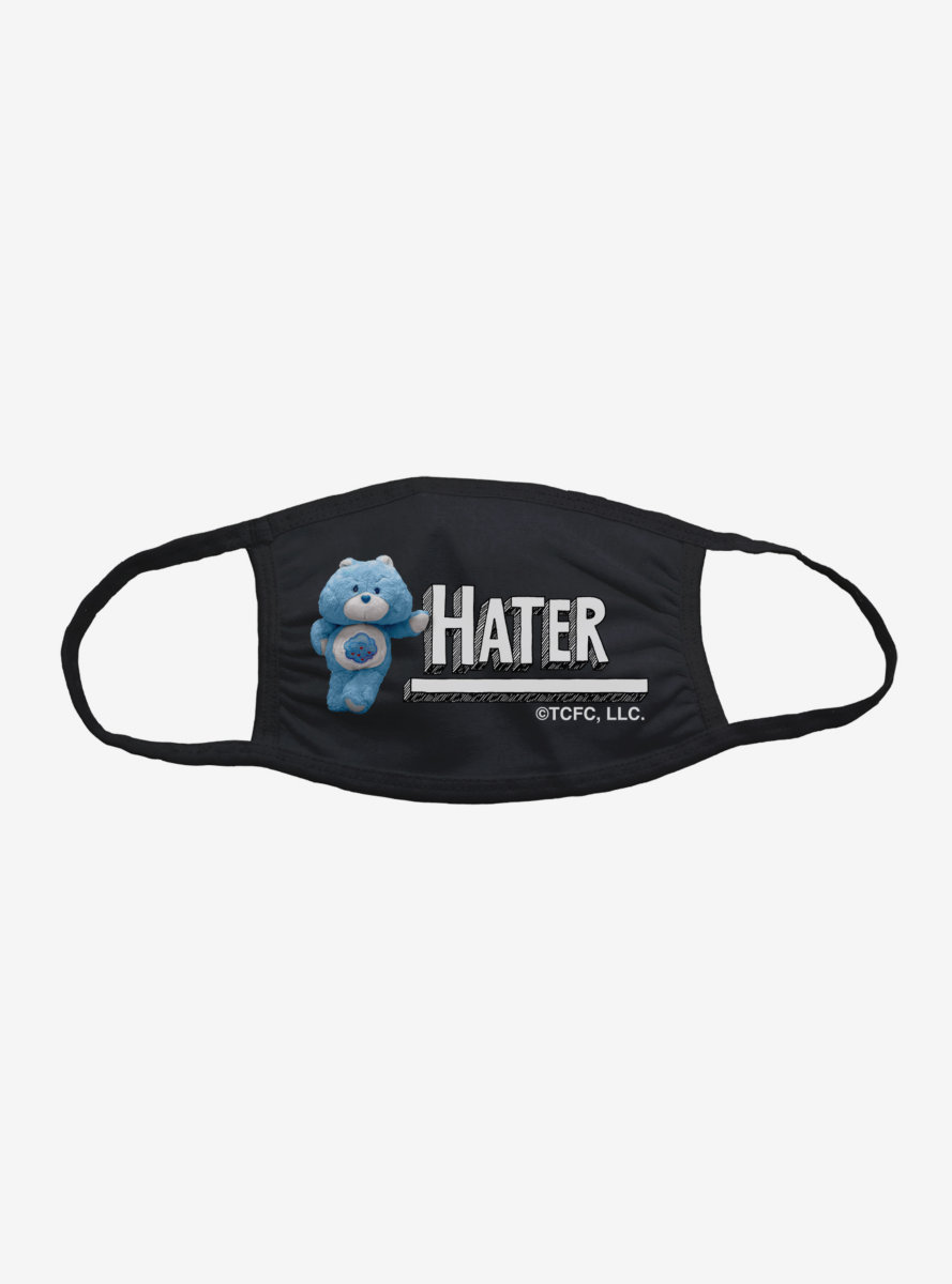 Care Bears Grumpy Bear Hater Face Mask