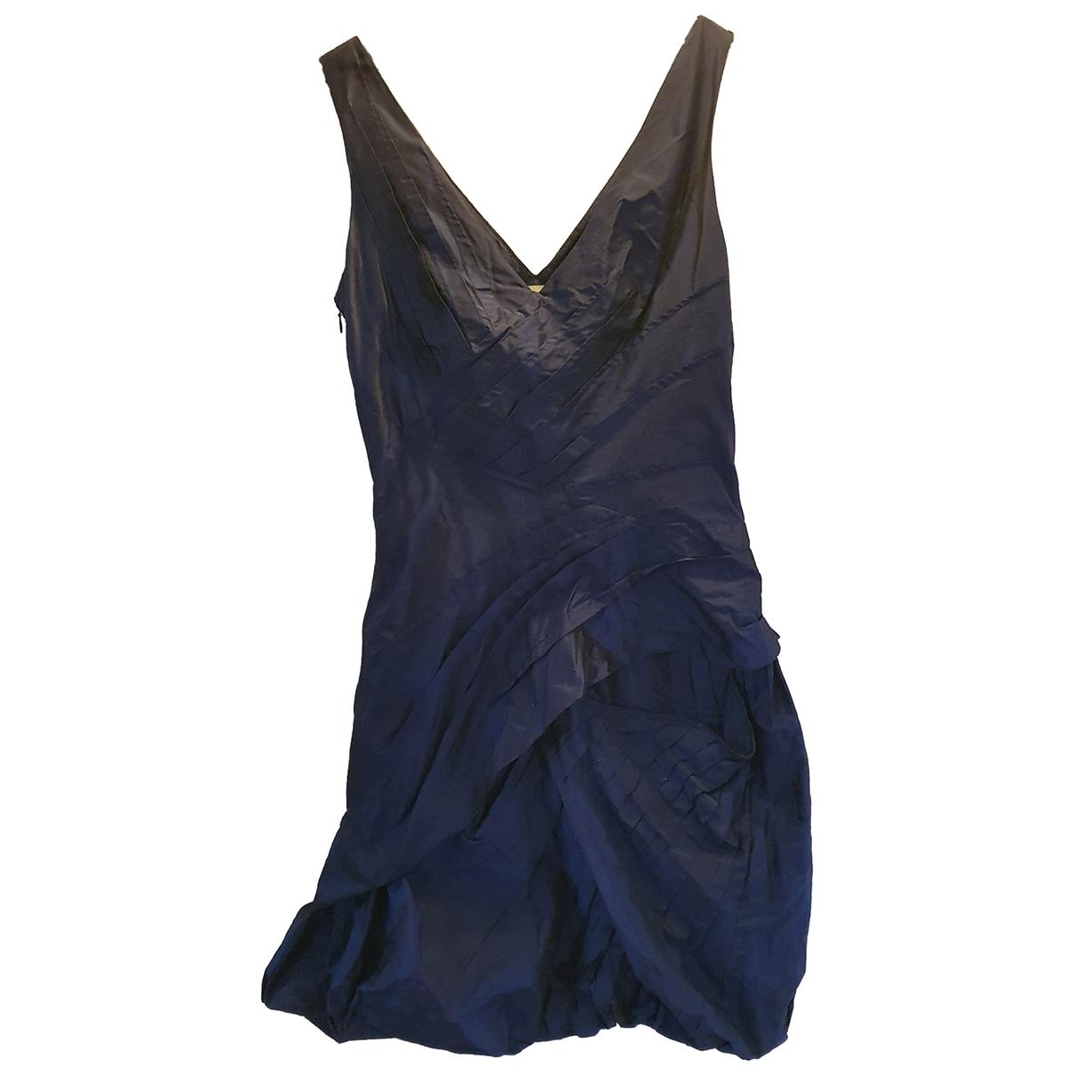 Dior \N Blue Silk dress for Women 36 FR