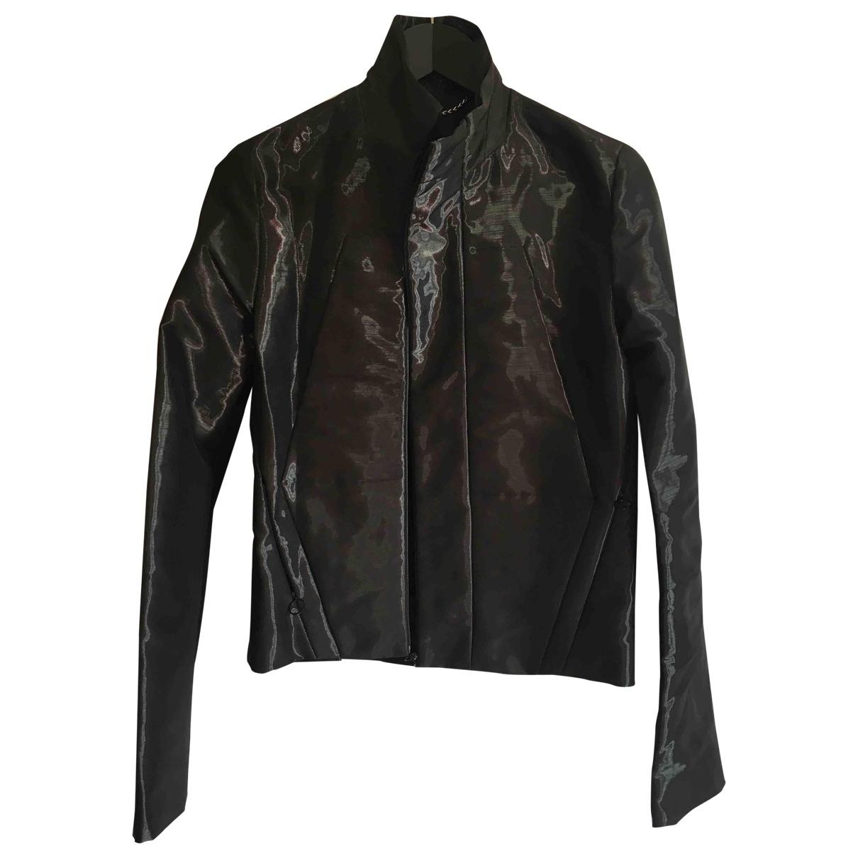 Balenciaga \N Grey jacket for Women 36 FR