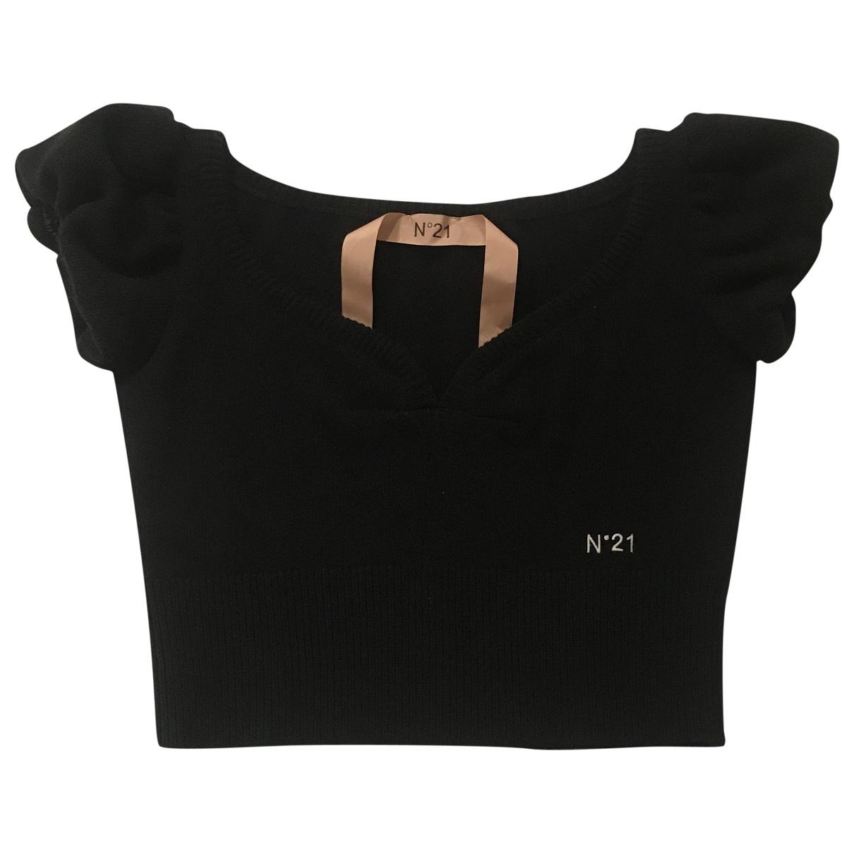 N°21 \N Black Wool Knitwear for Women 40 IT
