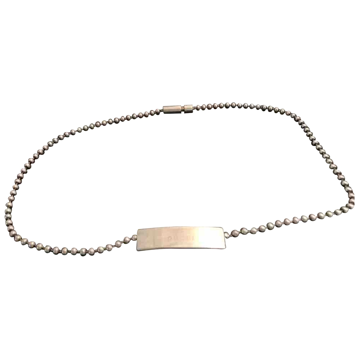 Gucci Icon Silver Silver necklace for Women \N