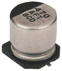 Panasonic 22μF Electrolytic Capacitor 50V dc, Surface Mount - EEEFT1H220AR (10)