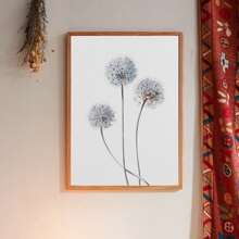 Dandelion Print Wall Painting Without Frame