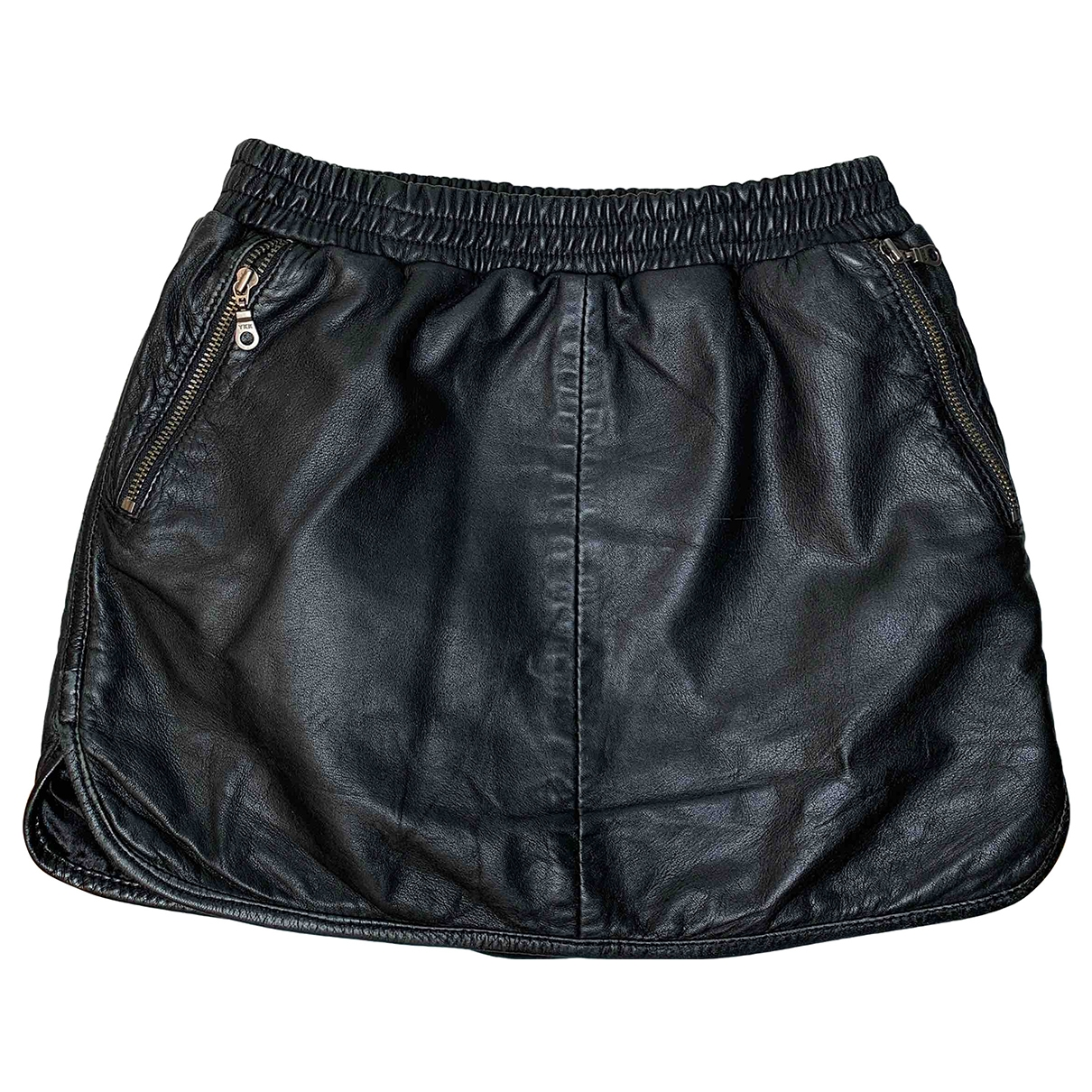 Little Remix \N Black Leather skirt for Kids 10 years - up to 142cm FR