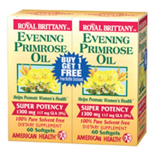 Evening Primrose Oil Super Potency 120+120 Sftgls by American Health
