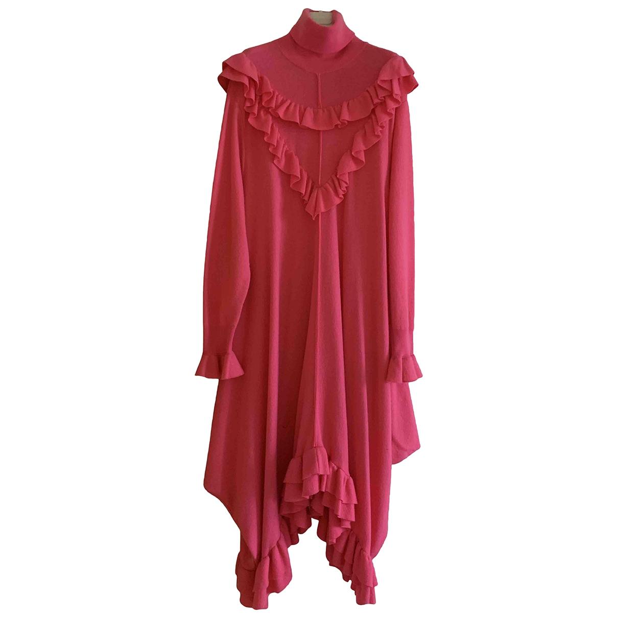 Stella Mccartney \N Pink Wool dress for Women 38 IT