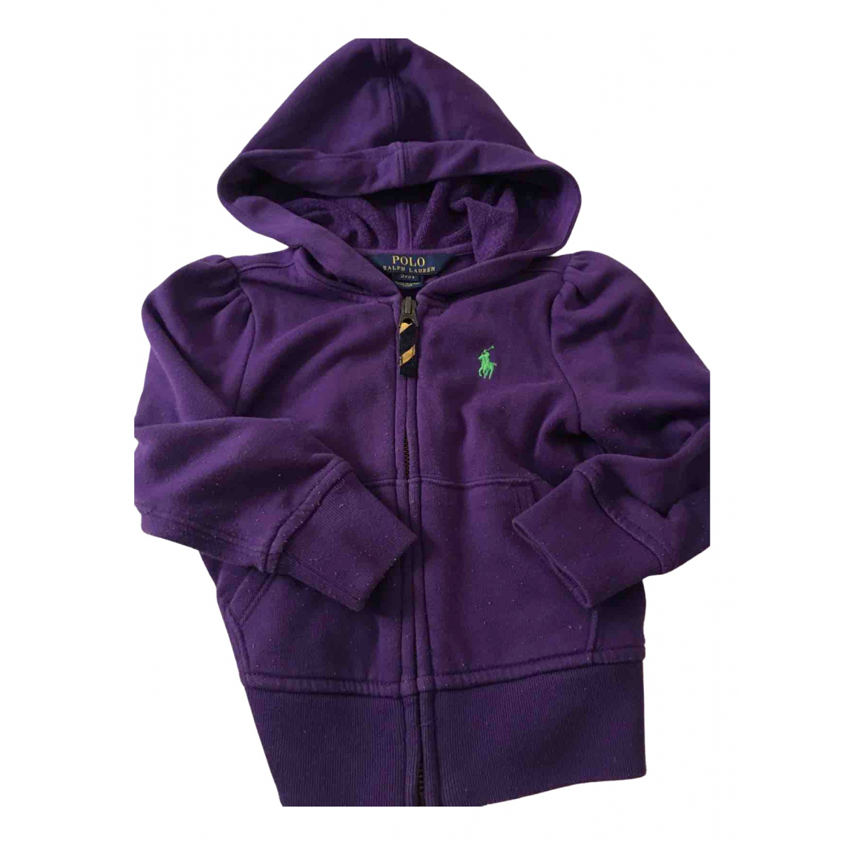 Polo Ralph Lauren \N Purple Cotton Knitwear for Kids 2 years - up to 86cm FR