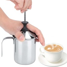 1pc Manual Milk Frother